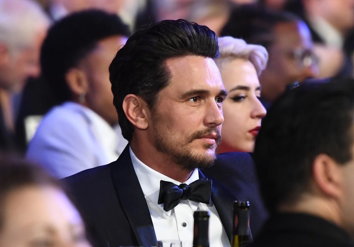 Actor James Franco attends the 24th Annual Screen Actors Guild Awards at The Shrine Auditorium