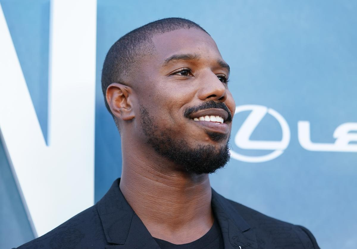 "Michael B. Jordan attends the premiere of OWN's ""David Makes Man"" at NeueHouse Hollywood"