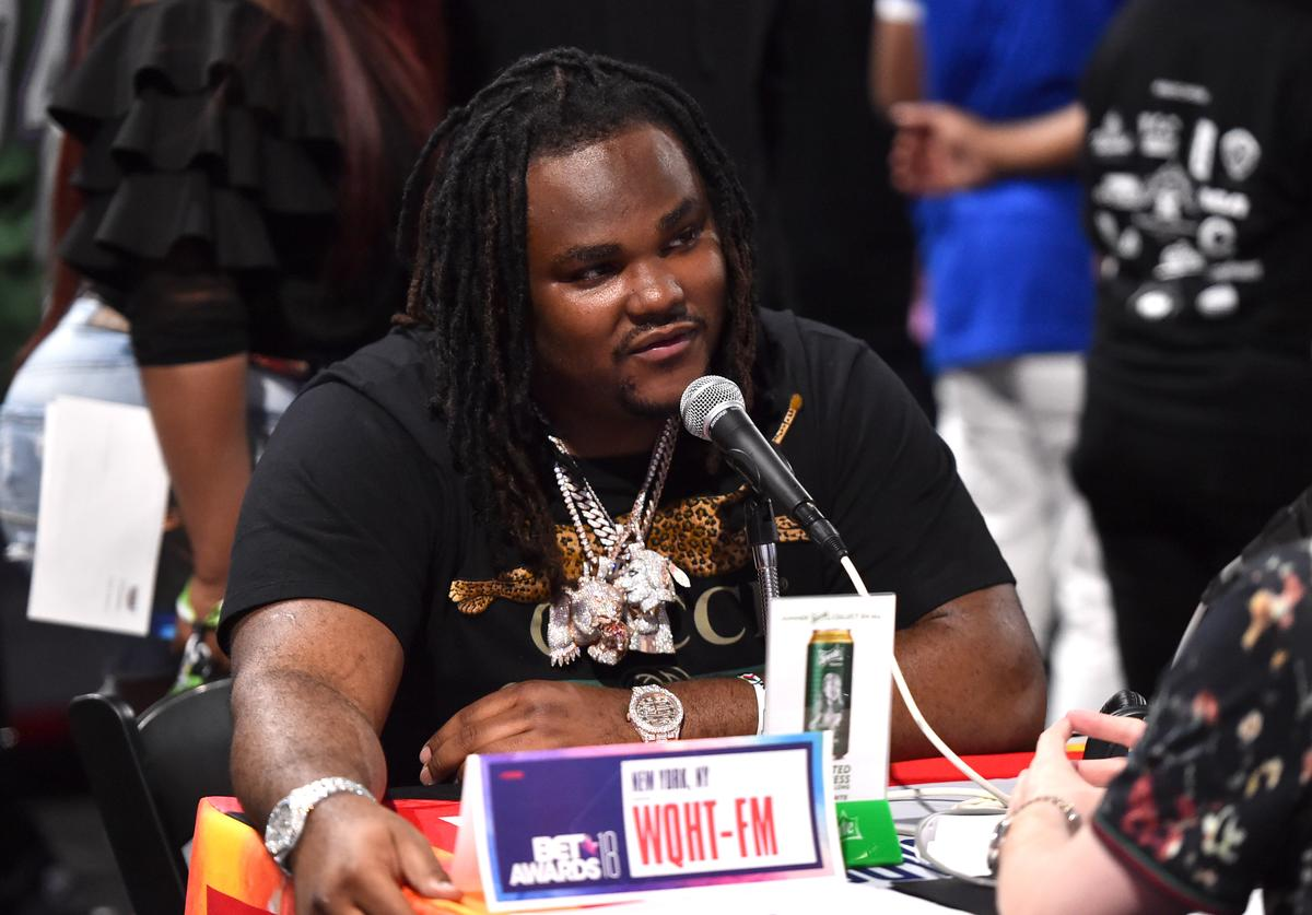 Tee Grizzley attends day one of the 2018 BET Awards Radio Remotes on June 22, 2018 in Los Angeles, California