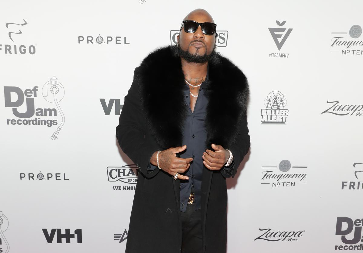 Jeezy at Def Jam Holiday Party.
