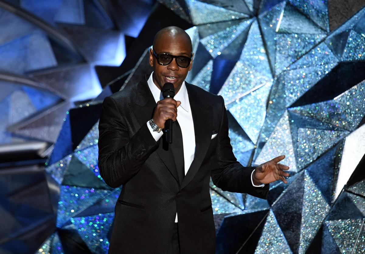Dave Chappelle at Academy Awards.