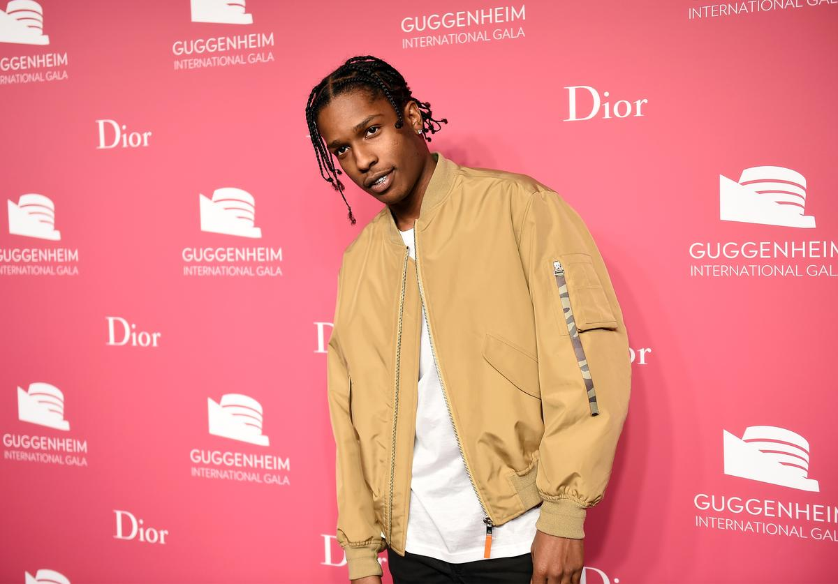 ASAP Rocky attends the 2015 Guggenheim International Gala Pre-Party made possible by Dior at Solomon R. Guggenheim Museum on November 4, 2015 in New York City
