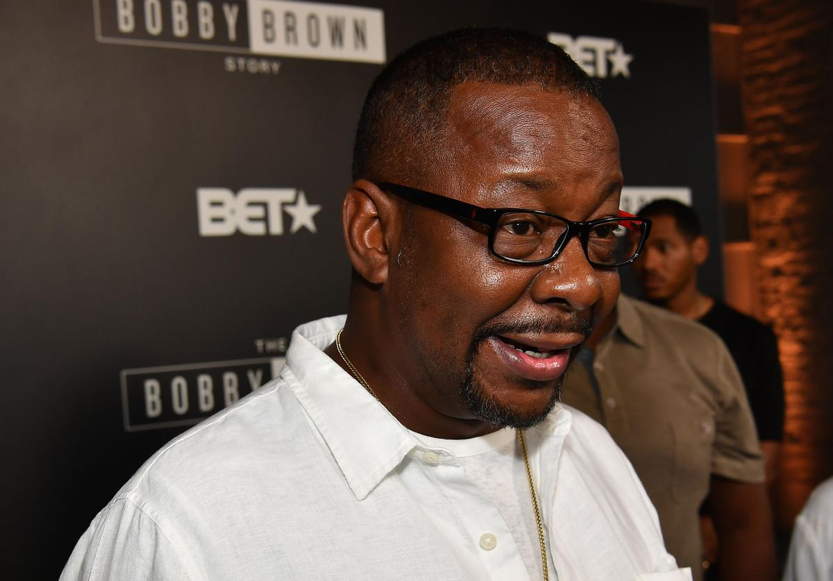 """Bobby Brown attends premiere of """"The Bobby Brown Story"""""""
