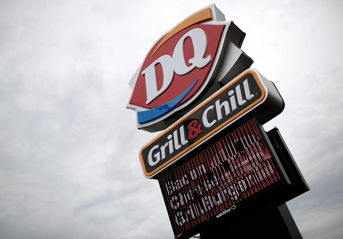 A Dairy Queen store is shown October 10, 2014 in Charlotte Hall, Maryland
