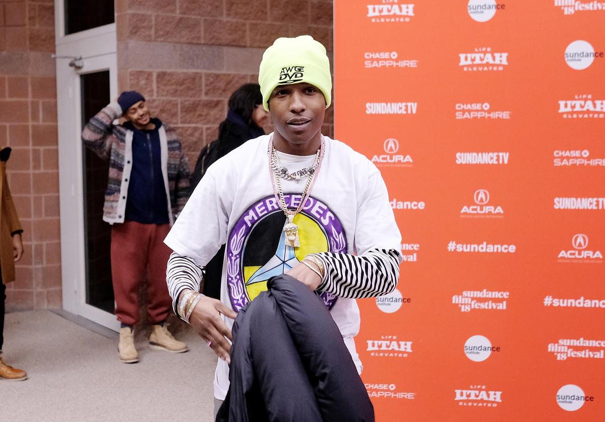 A$AP Rocky attends the 'Monster' Premiere during the 2018 Sundance Film Festival at Eccles Center Theatre on January 22, 2018 in Park City, Utah