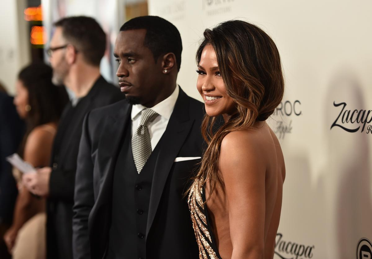 Sean 'Diddy' Combs and actress Cassie Venturaattends the premiere of Lionsgate's 'The Perfect Match' at ArcLight Hollywood on March 7, 2016 in Hollywood, California