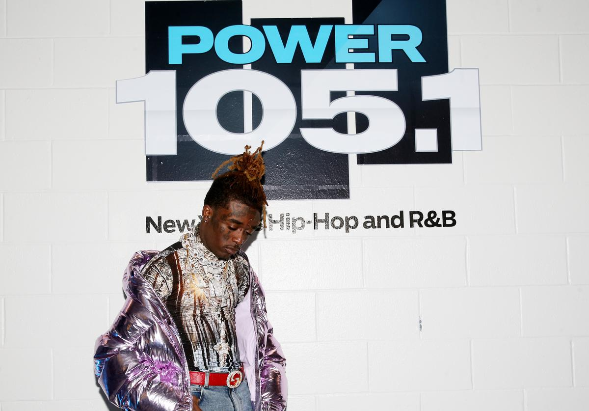 Lil Uzi Vert at Power 105.1