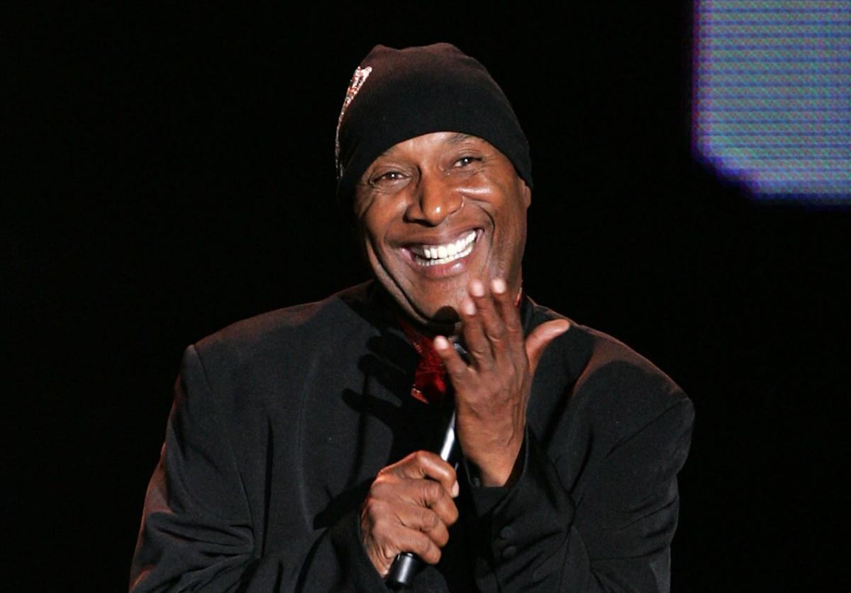 Comedian Paul Mooney makes an appearance at the BET Upfront presentation at the Manhattan Center