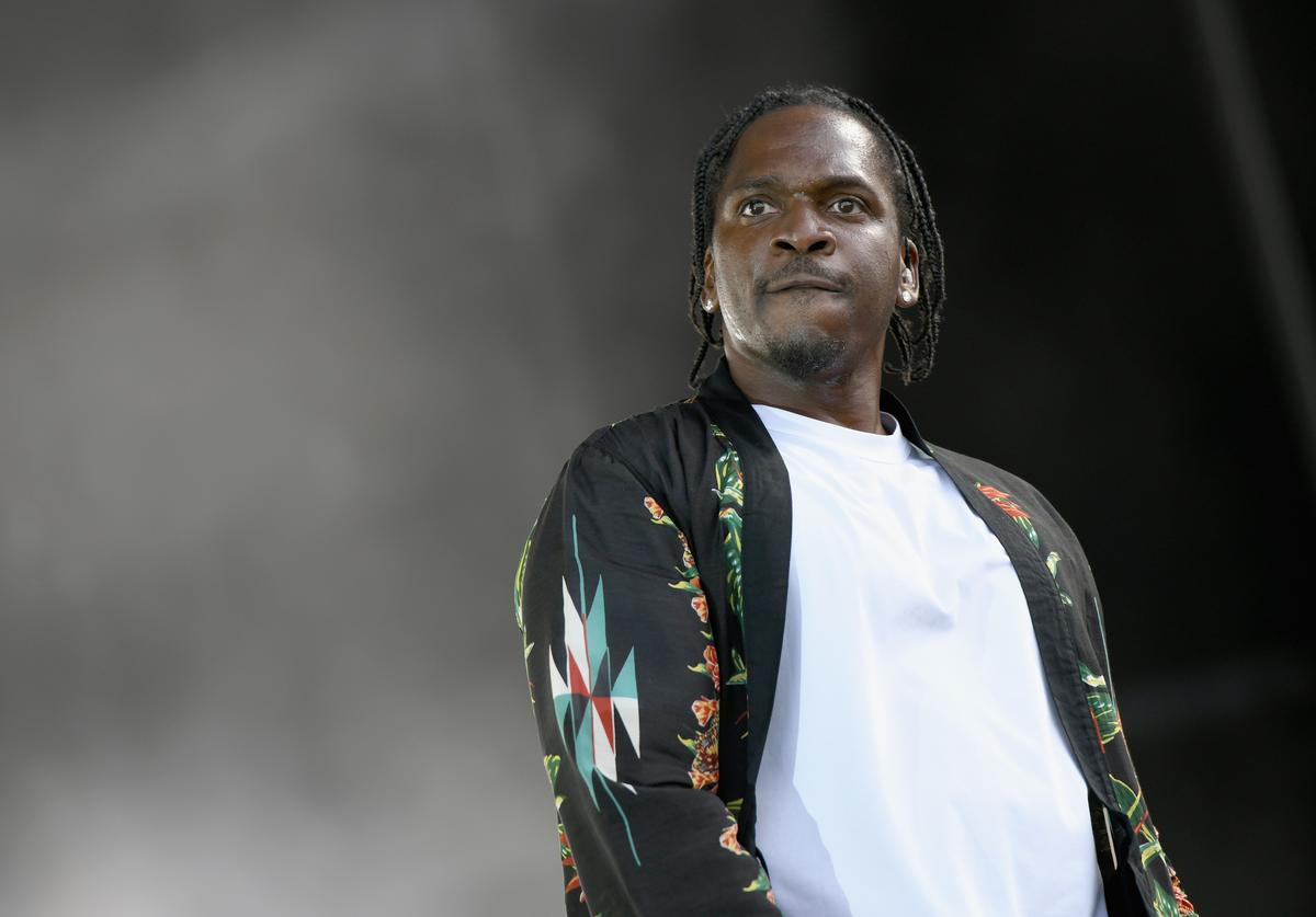 Pusha T at Something In The Water festival.
