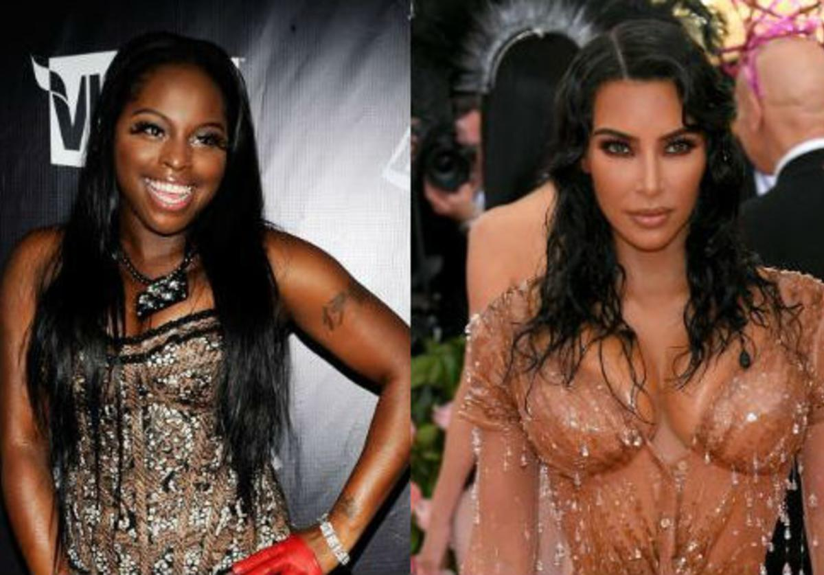 Foxy Brown,, Kim Kardashian