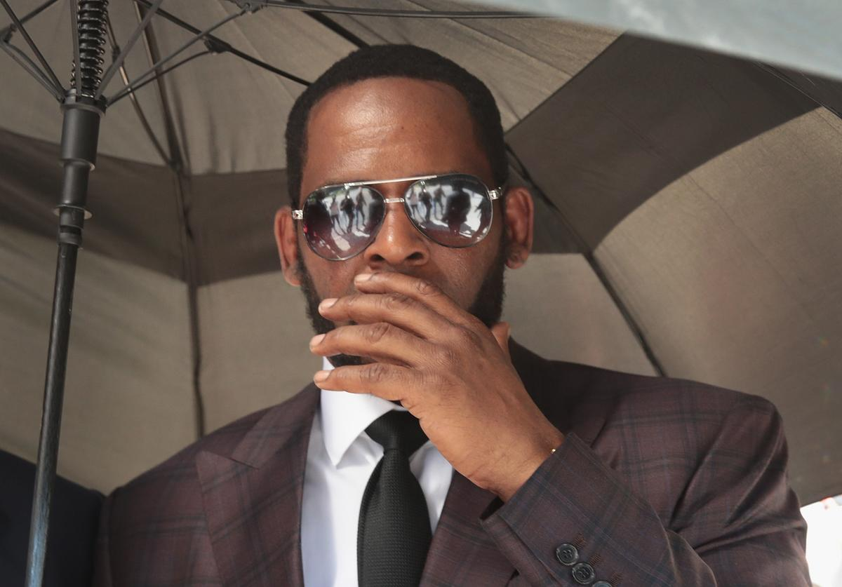 R. Kelly going to court.