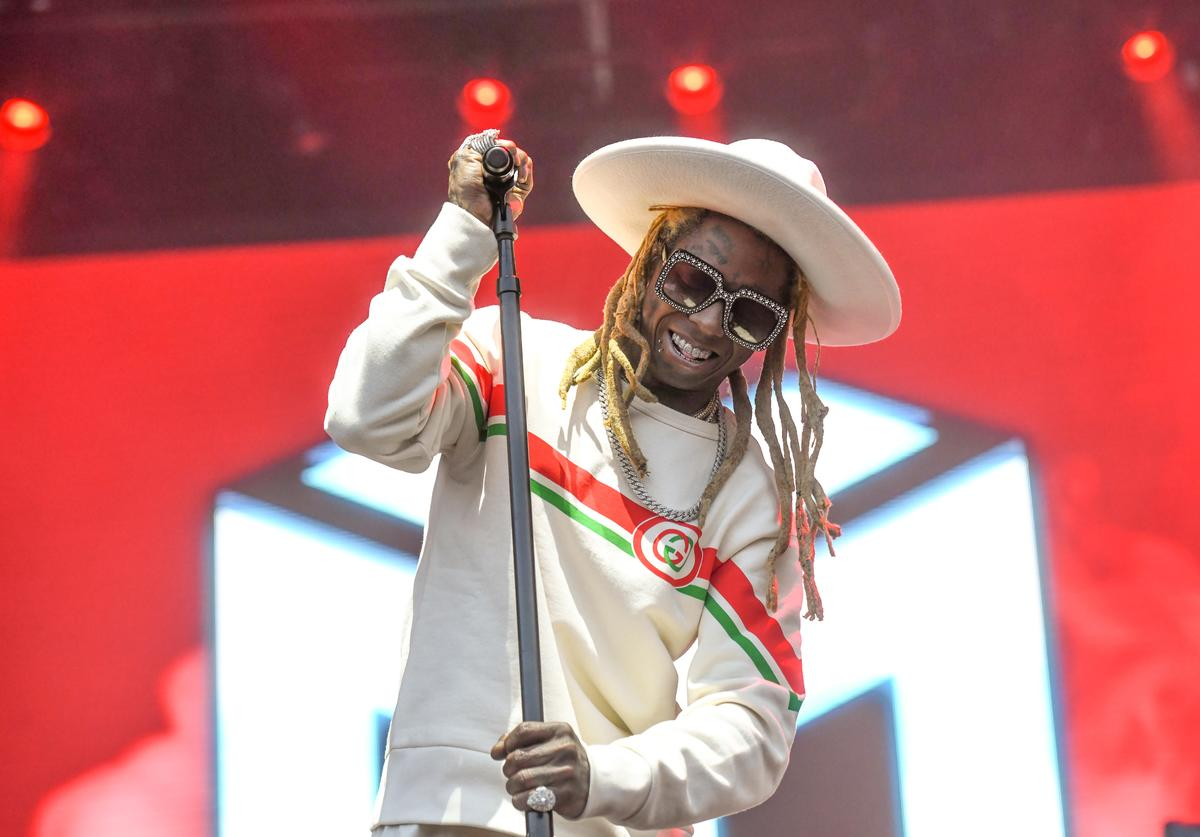Lil Wayne performs at the 2019 Governors Ball Festival at Randall's Island on May 31, 2019 in New York City.