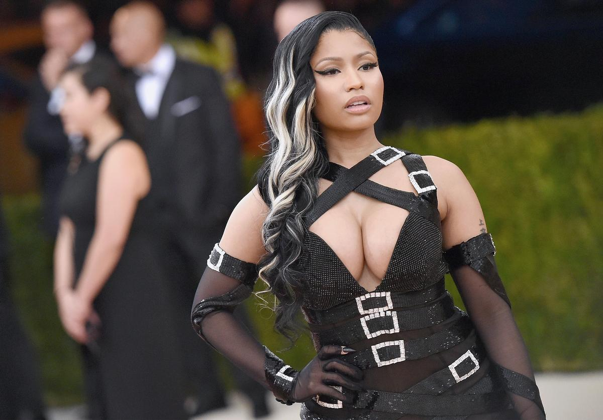 "Nicki Minaj attends the ""Manus x Machina: Fashion In An Age Of Technology"" Costume Institute Gala at Metropolitan Museum of Art on May 2, 2016 in New York City"