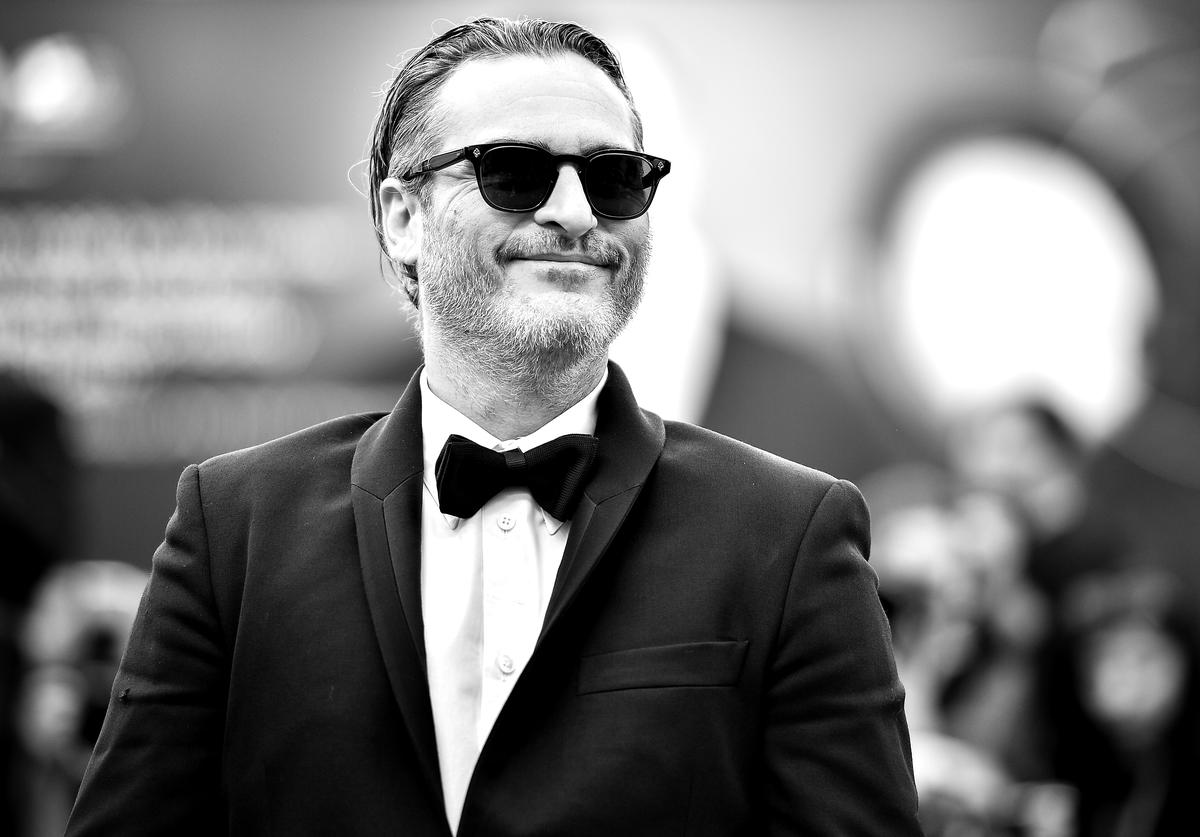 "Joaquin Phoenix of ""The Joker"" walks the red carpet ahead of the closing ceremony of the 76th Venice Film Festival at Sala Grande on September 07, 2019 in Venice, Italy."