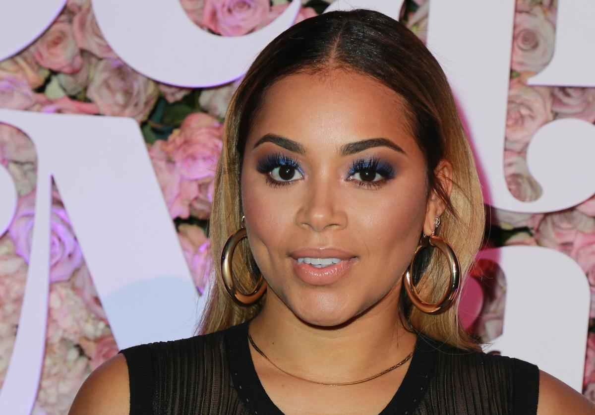 "Actress Lauren London attends the VH1's 3rd Annual ""Dear Mama: A Love Letter To Moms"" - Cocktail Reception at The Theatre at Ace Hotel on May 3, 2018 in Los Angeles, California."