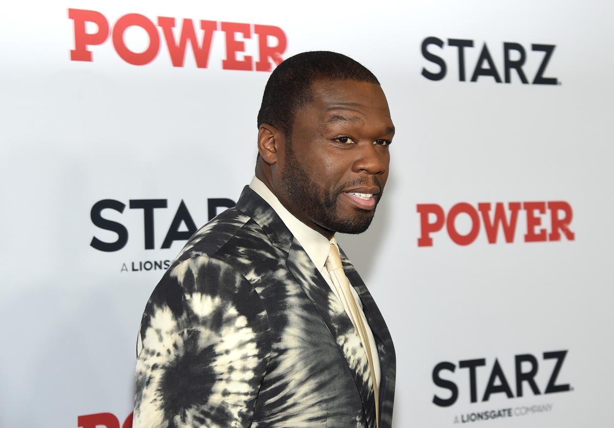 50 Cent at Power event.
