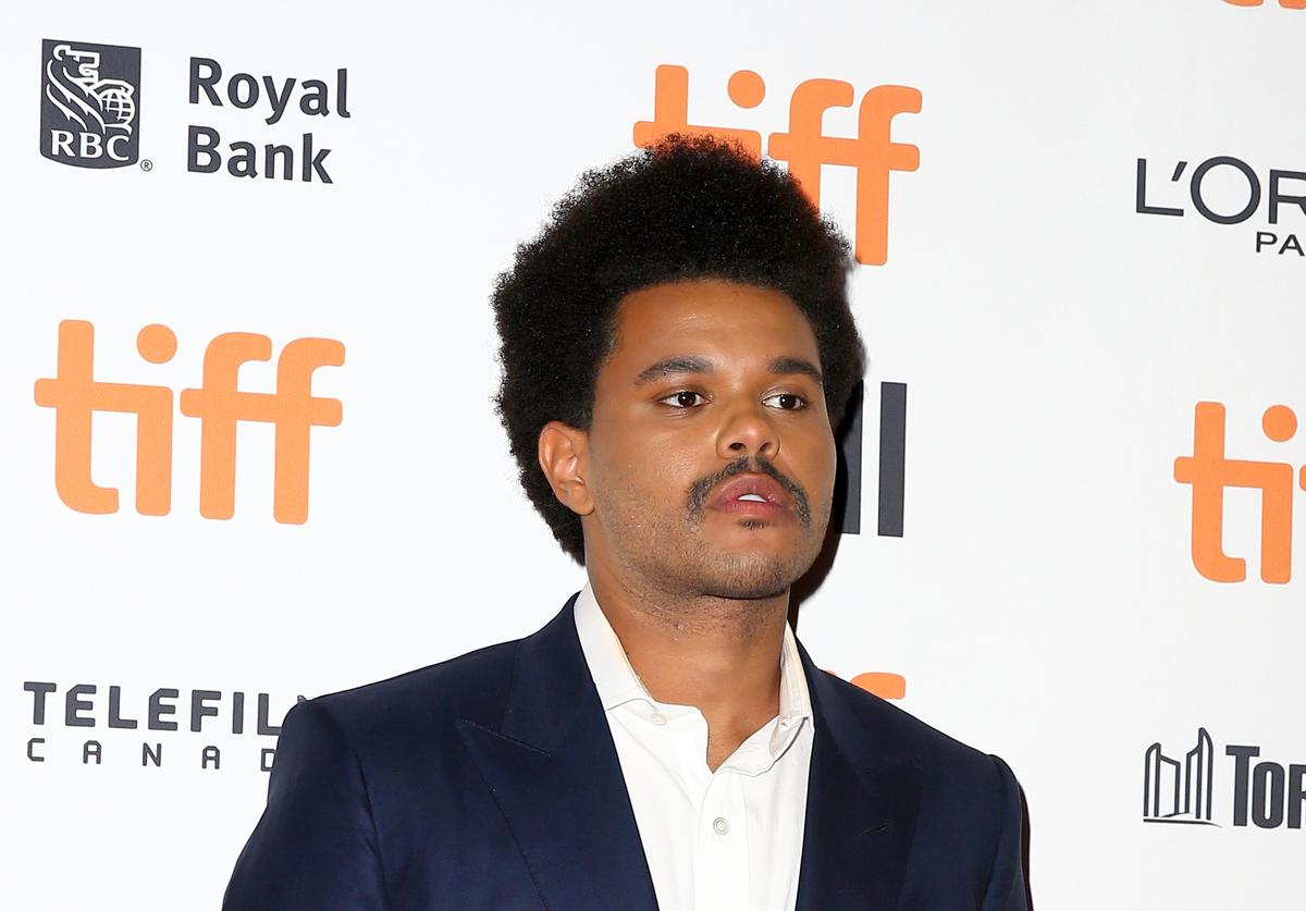 "The Weeknd attends the ""Uncut Gems""premiere during the 2019 Toronto International Film Festival at Princess of Wales Theatre on September 09, 2019 in Toronto, Canada"