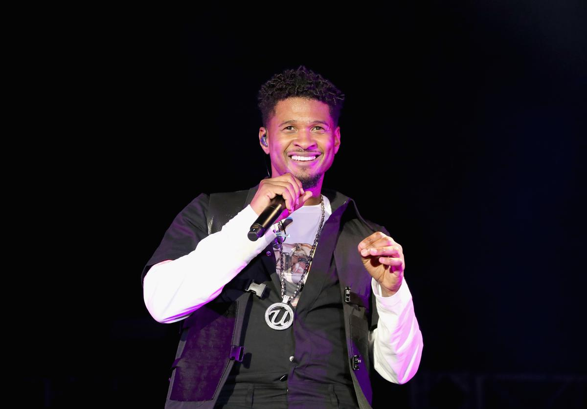 Usher performs onstage at SOMETHING IN THE WATER - Day 2 on April 27, 2019 in Virginia Beach City.