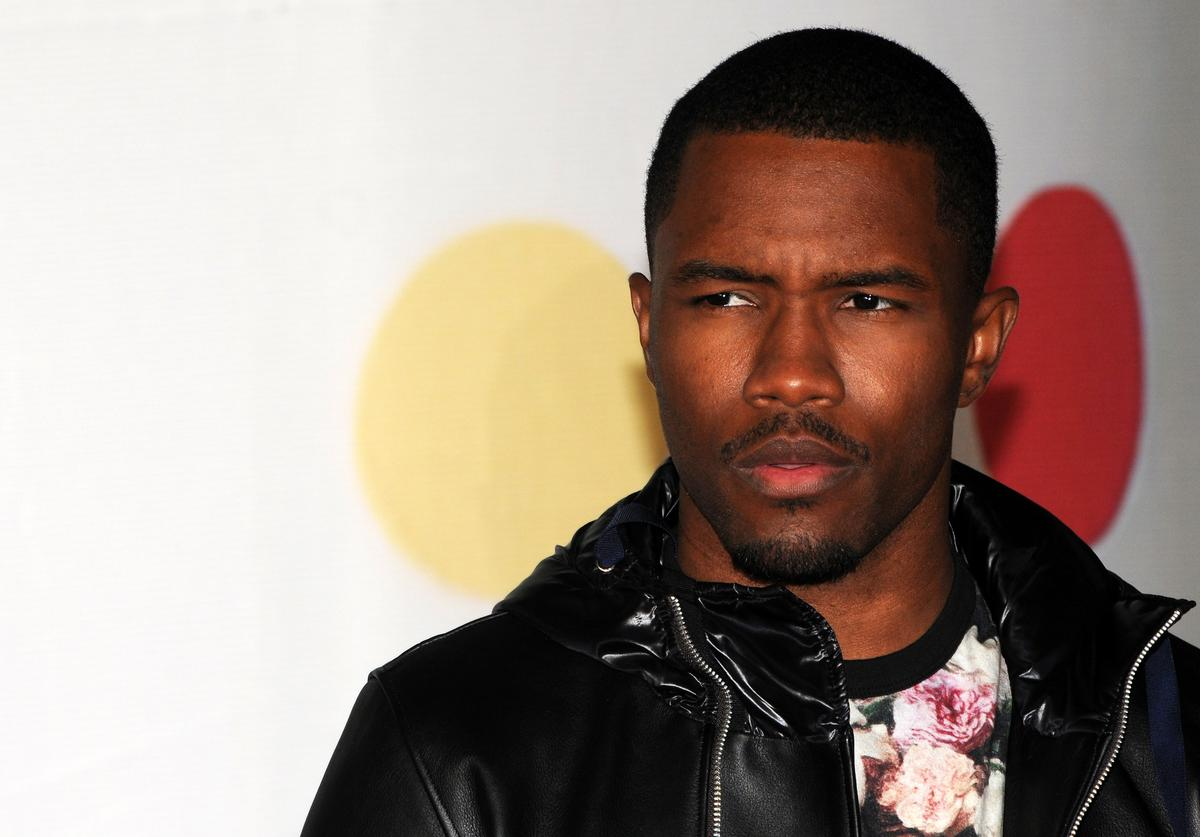 Frank Ocean attends the Brit Awards 2013 at the 02 Arena on February 20, 2013 in London, England