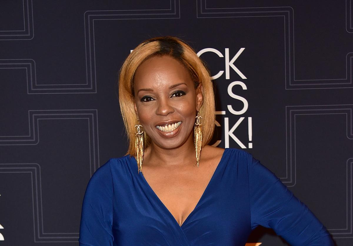 Rapper Rah Digga attends the Black Girls Rock! 2016 Show at New Jersey Performing Arts Center on April 1, 2016 in Newark, New Jersey.