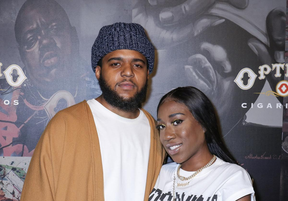CJ and T'yanna Wallace at Biggie Inspires event.