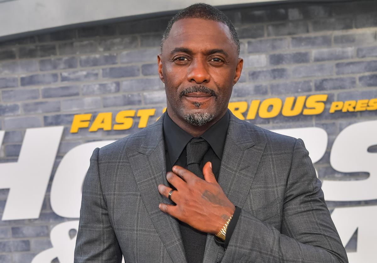 "Idris Elba attends the premiere of Universal Pictures' ""Fast & Furious Presents: Hobbs & Shaw"" at Dolby Theatre on July 13, 2019 in Hollywood, California."