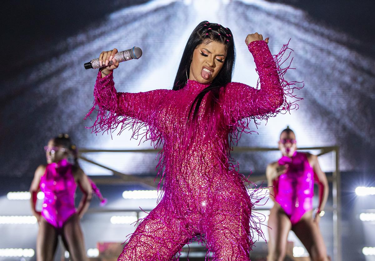 Cardi B performs on day 1 of Music Midtown at Piedmont Park on September 14, 2019 in Atlanta, Georgia