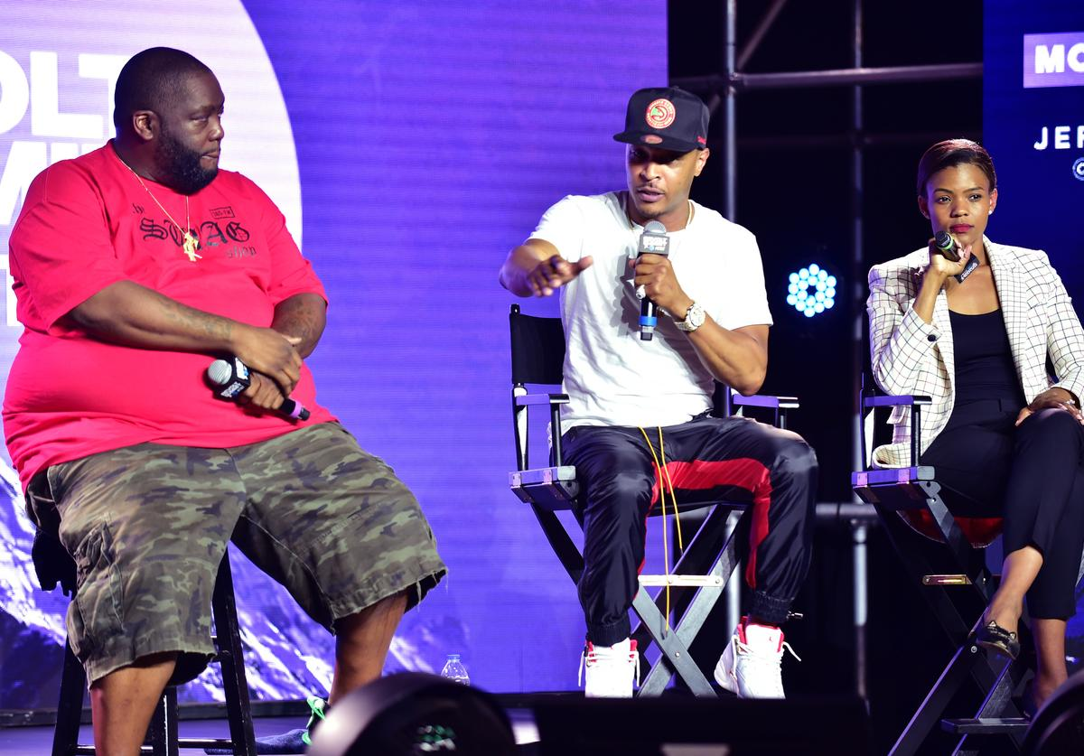 Killer Mike, T.I., Candace Owens at REVOLT Summit.