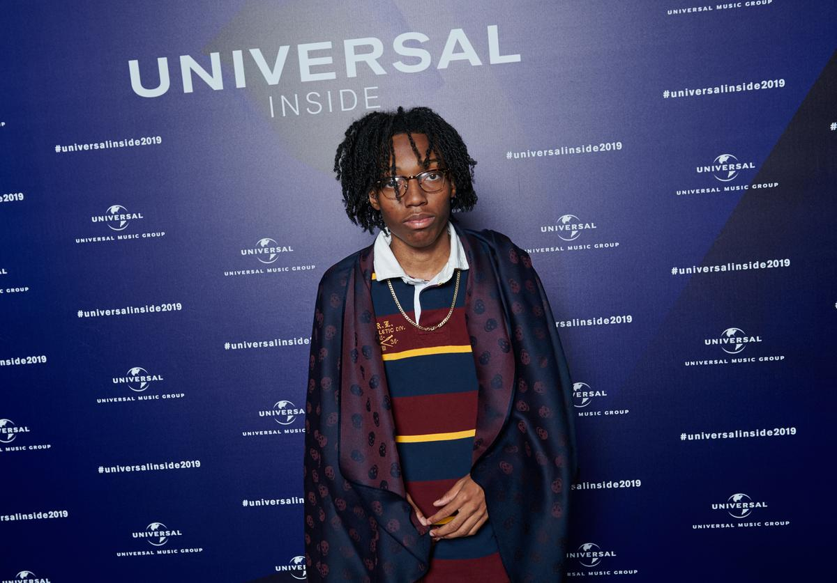 Lil Tecca aka Tyler-Justin Sharpe poses for a photo during Universal Inside 2019 organized by Universal Music Group at Verti Music Hall on September 4, 2019 in Berlin, Germany