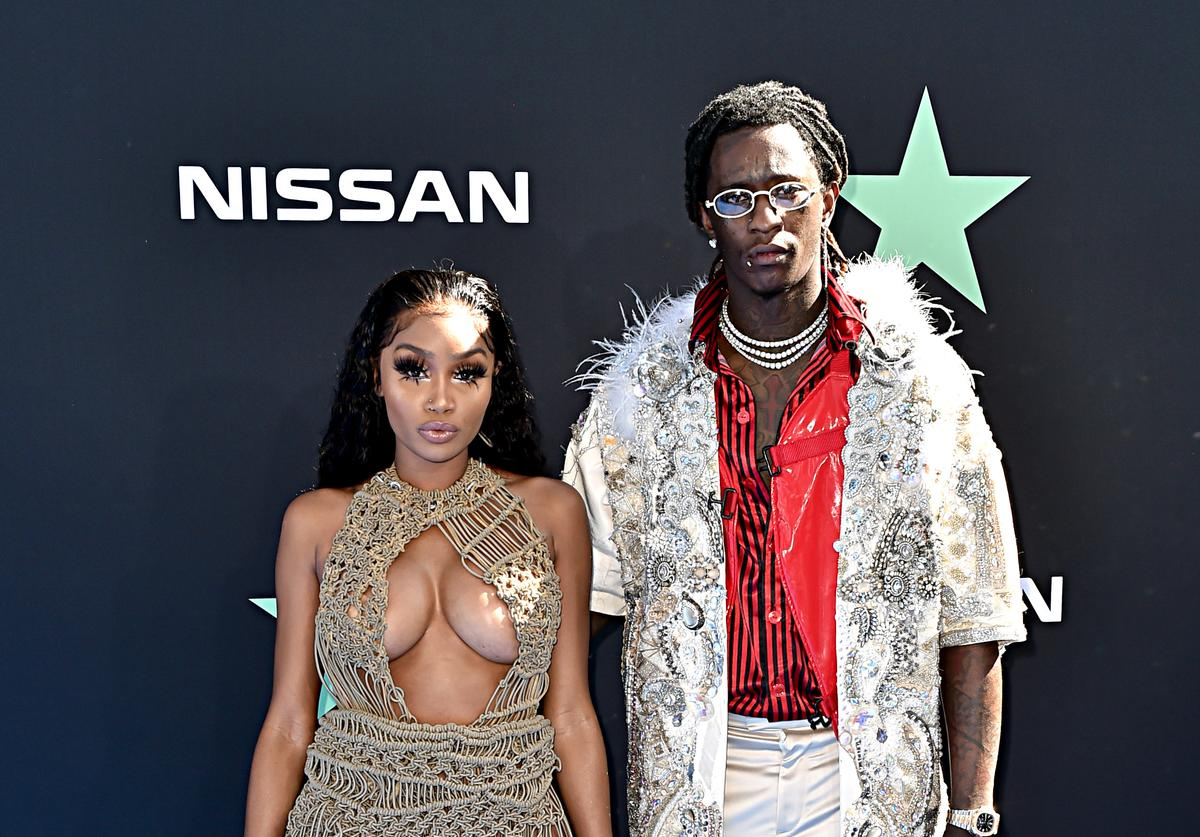Jerrika Karlae Young Thug attend the 2019 BET Awards at Microsoft Theater on June 23, 2019 in Los Angeles, California