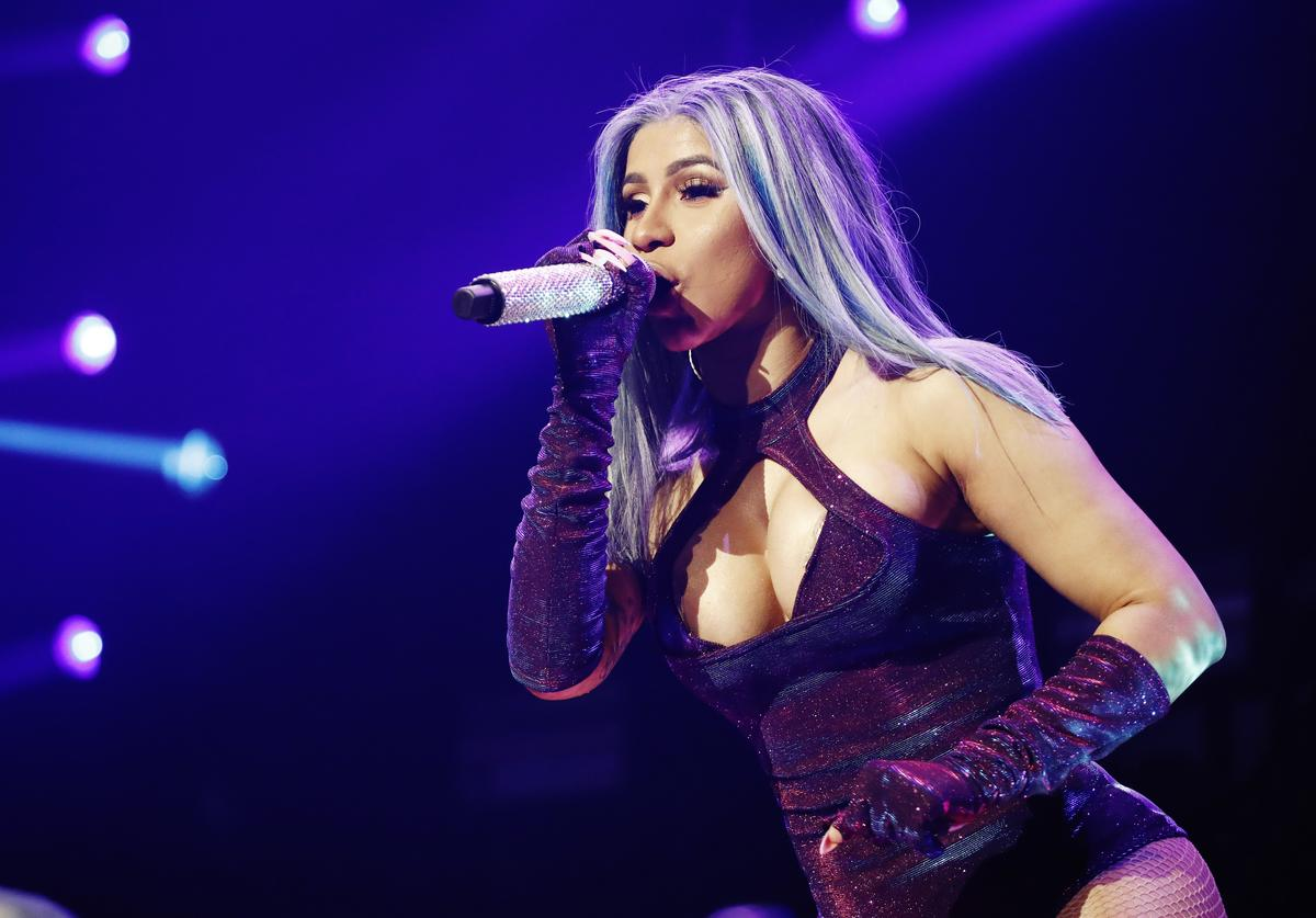 Cardi B performs onstage at the STAPLES Center Concert Sponsored By Sprite during BET Experience at Staples Center on June 22, 2019 in Los Angeles, California