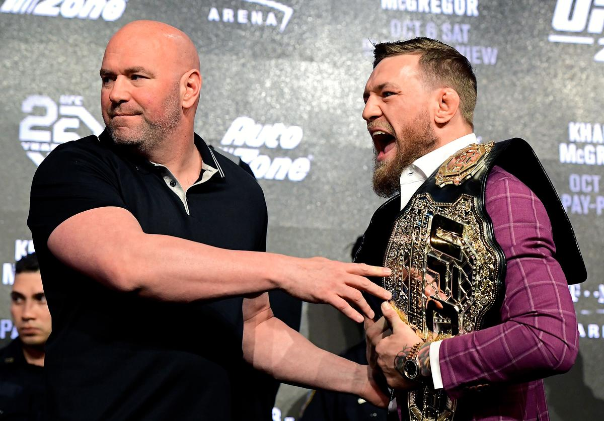 Dana White & Conor McGregor
