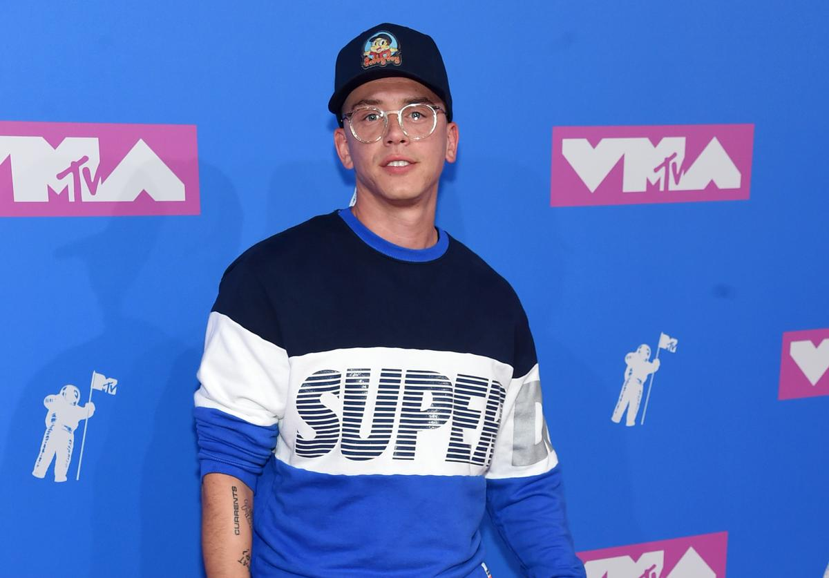 Logic attends the 2018 MTV Video Music Awards at Radio City Music Hall on August 20, 2018 in New York City