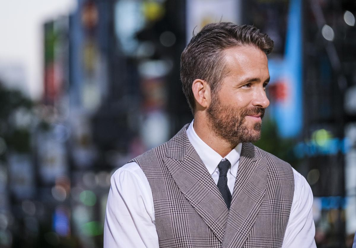 Actor Ryan Reynolds attends the world premiere of 'Pokemon Detective Pikachu' on April 25, 2019 in Tokyo, Japan