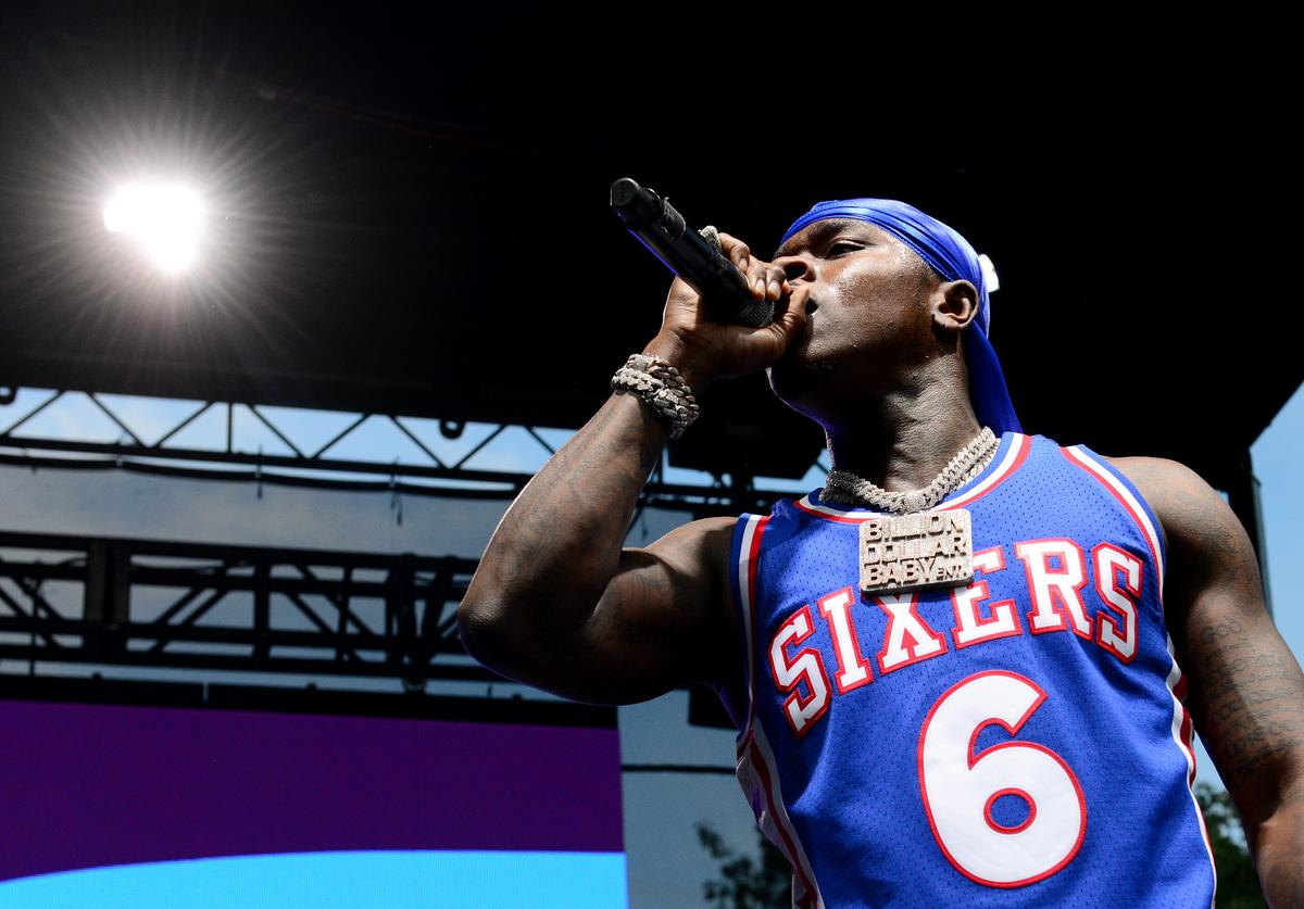 Dababy performs onstage during Made In America - Day 2 at Benjamin Franklin Parkway on September 01, 2019 in Philadelphia, Pennsylvania