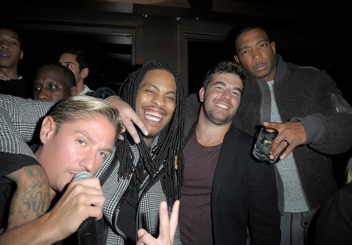 Billy McFarland partying with Ja Rule and Waka Flocka Flame.