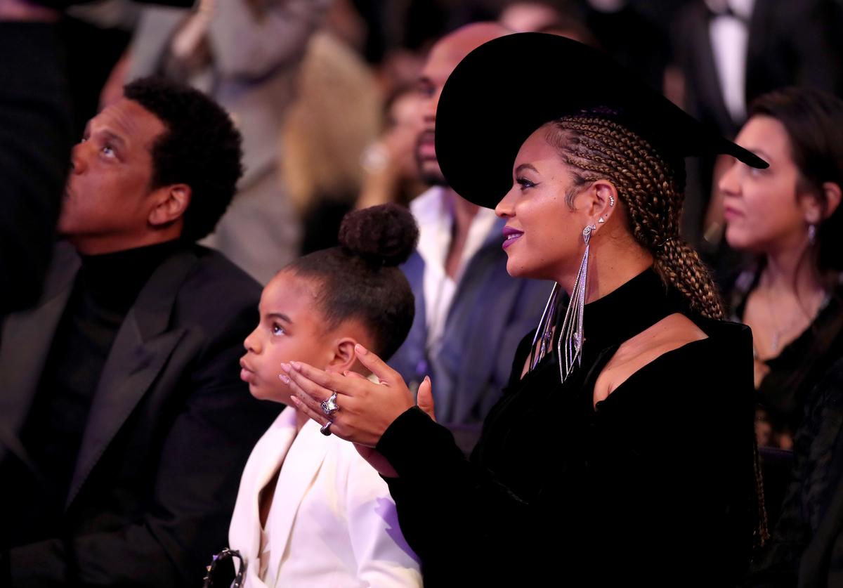 Beyonce and Blue Ivy Carter.