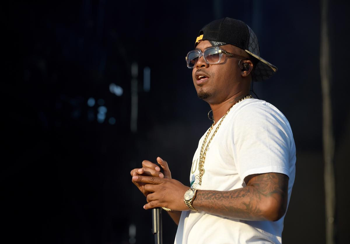 Rapper Nas performs onstage during the Meadows Music and Arts Festival - Day 3 at Citi Field on September 17, 2017 in New York City.