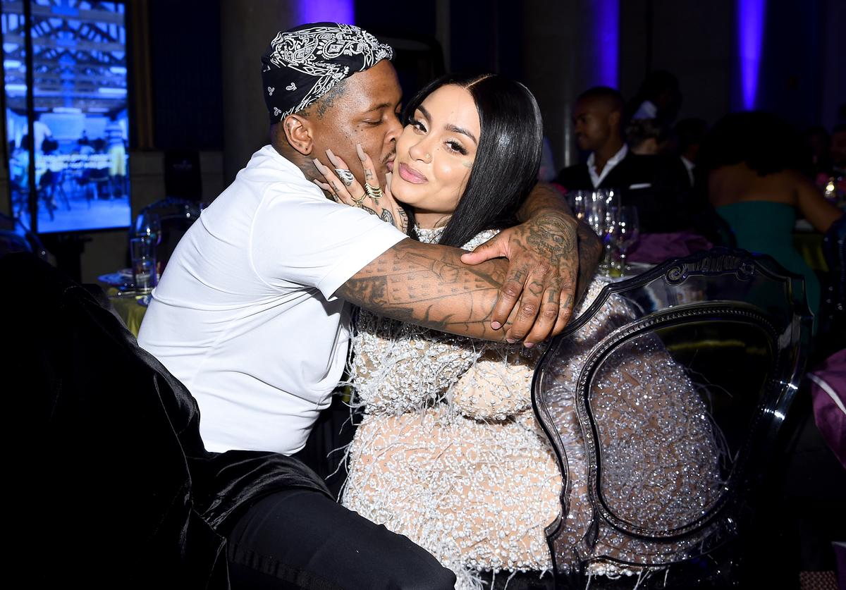 YG and Kehlani attend Rihanna's 5th Annual Diamond Ball Benefitting The Clara Lionel Foundation at Cipriani Wall Street on September 12, 2019 in New York City