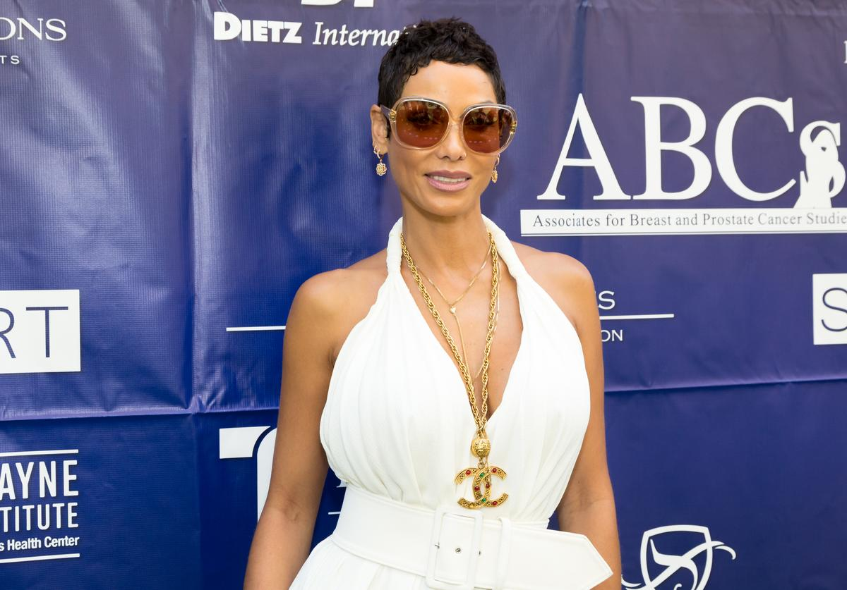 Nicole Murphy attends the ABCs Annual Mother's Day Luncheon at the Beverly Wilshire Four Seasons Hotel on May 9, 2018 in Beverly Hills, California
