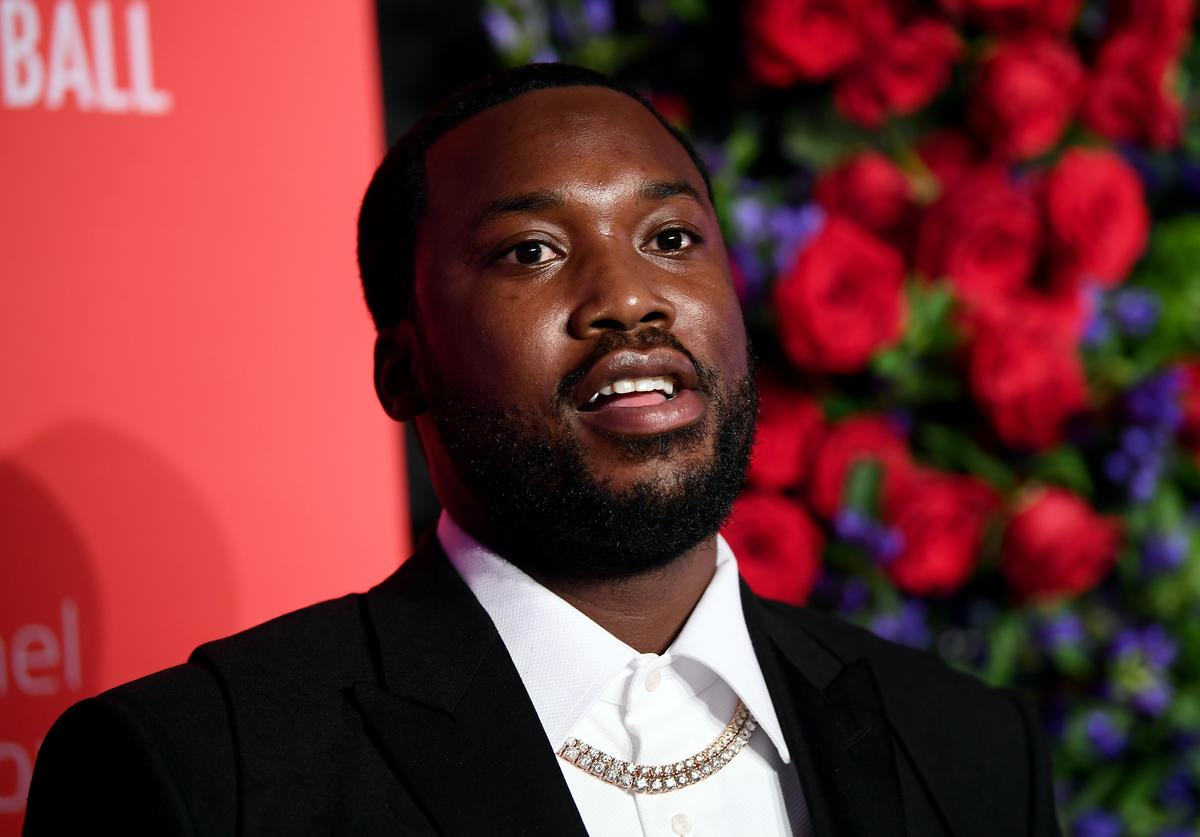 Meek Mill attends Rihanna's 5th Annual Diamond Ball Benefitting The Clara Lionel Foundation at Cipriani Wall Street on September 12, 2019 in New York City.
