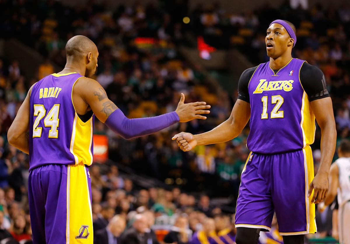 Kobe Bryan & Dwight Howard