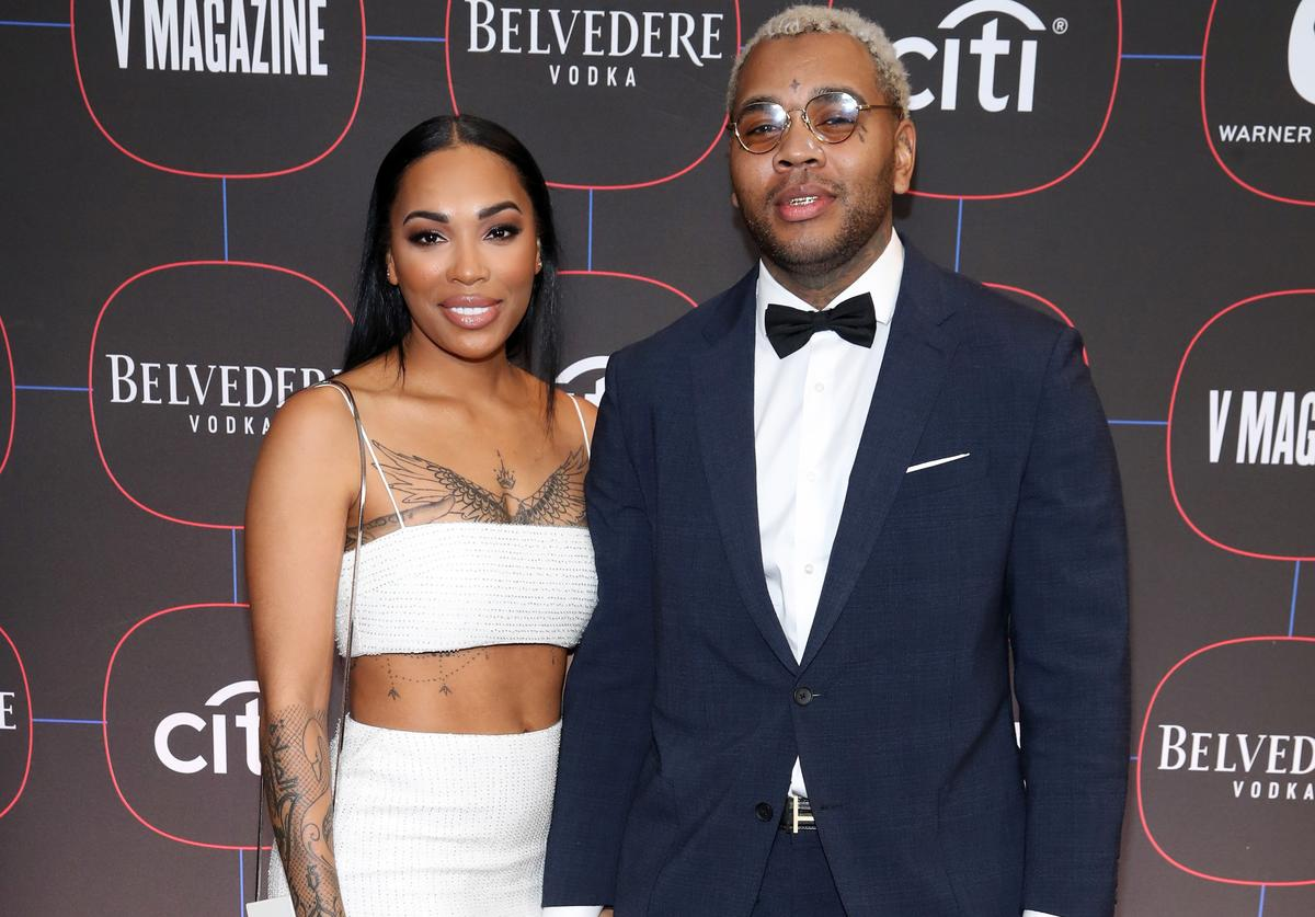 Kevin Gates w his wife Dreka
