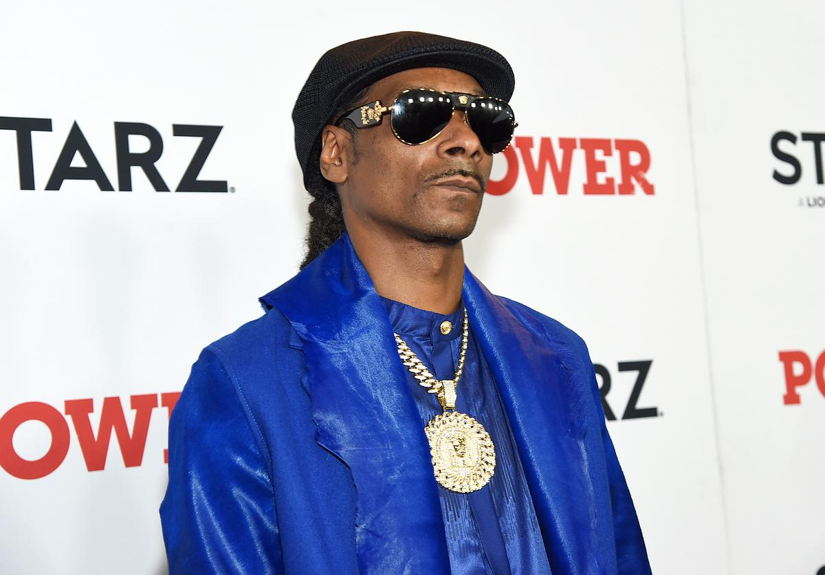 "Snoop Dogg at STARZ Madison Square Garden ""Power"" Season 6 Red Carpet Premiere, Concert, and Party on August 20, 2019 in New York City."