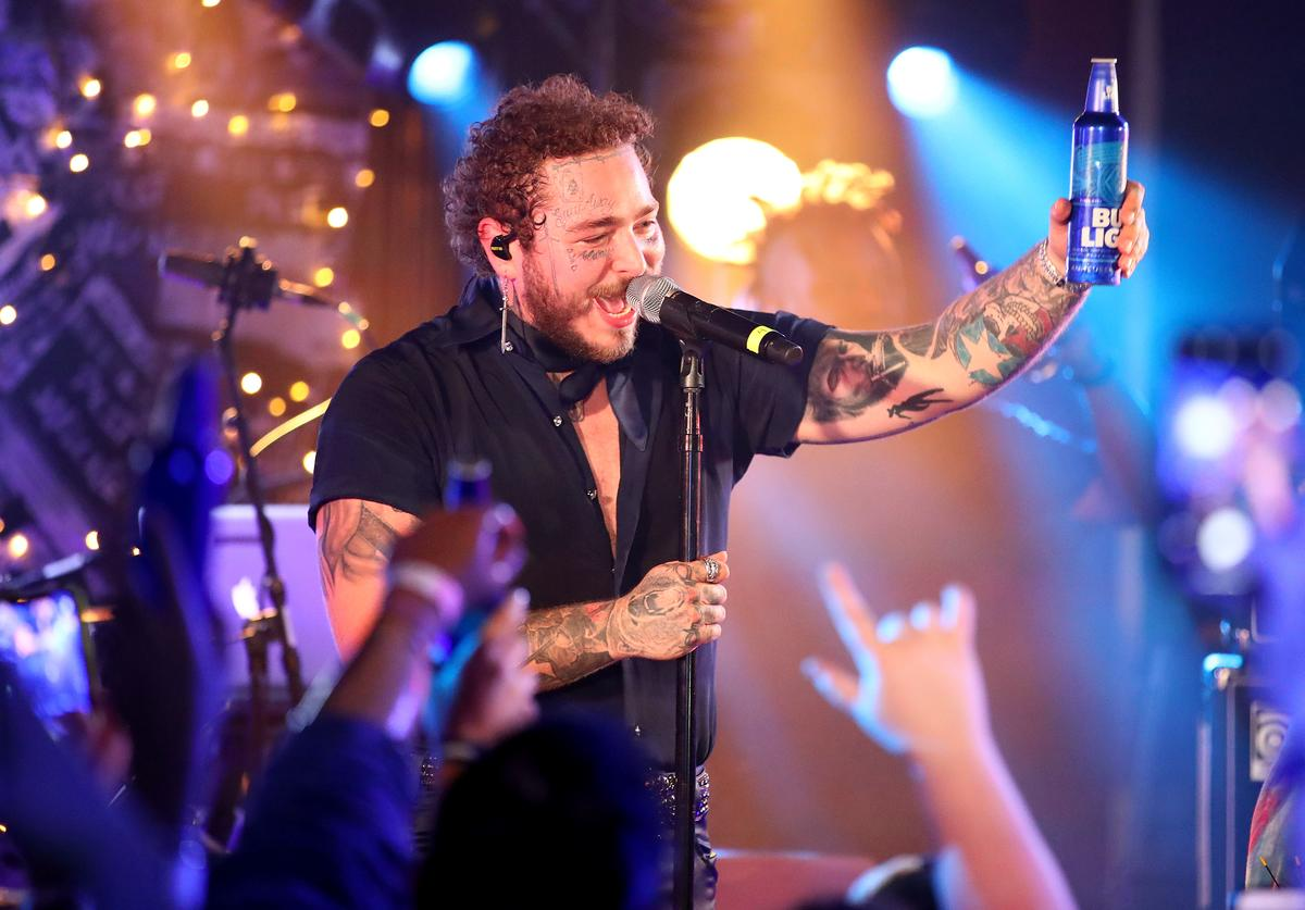 Post Malone backed by Sublime With Rome headlines Bud Light's Dive Bar Tour In New York City
