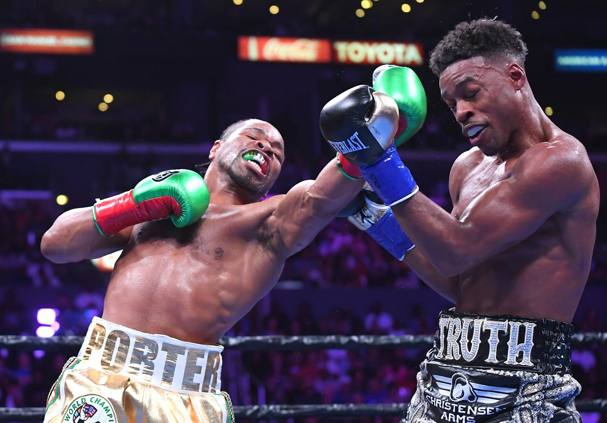 Errol Spence Jr vs Shawn Porter