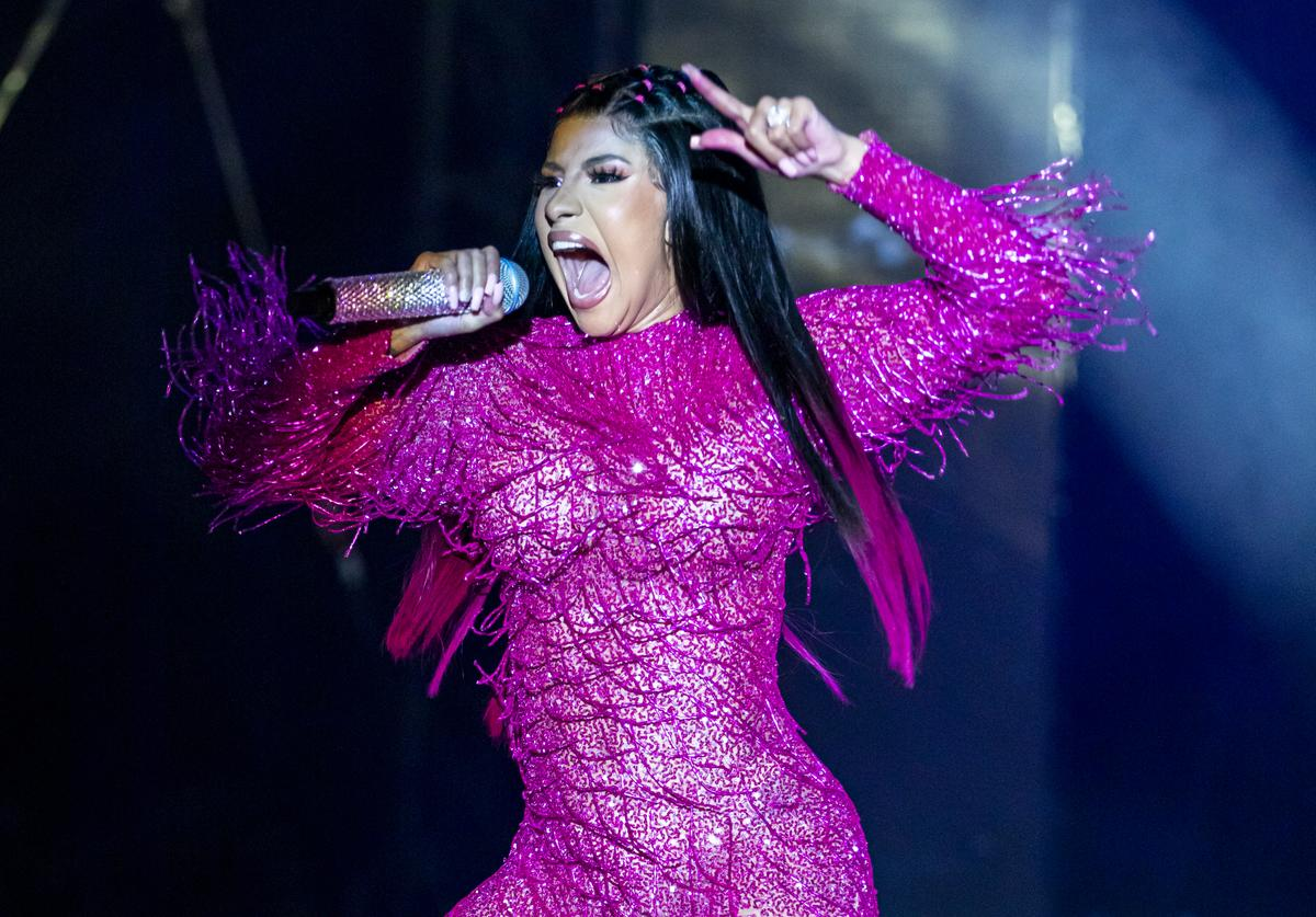 Cardi Bperforms on day 1 of Music Midtown at Piedmont Park on September 14, 2019 in Atlanta, Georgia