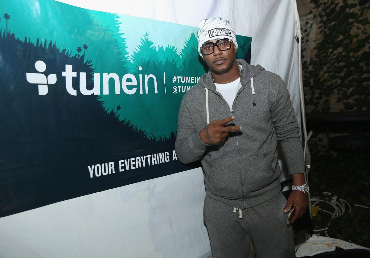 Rapper Cam'ron attends the Hip-Hop Beat Showcase at TuneIn Studios @ SXSW 2017 on Thursday, March 16th 2017 in Austin, TX.