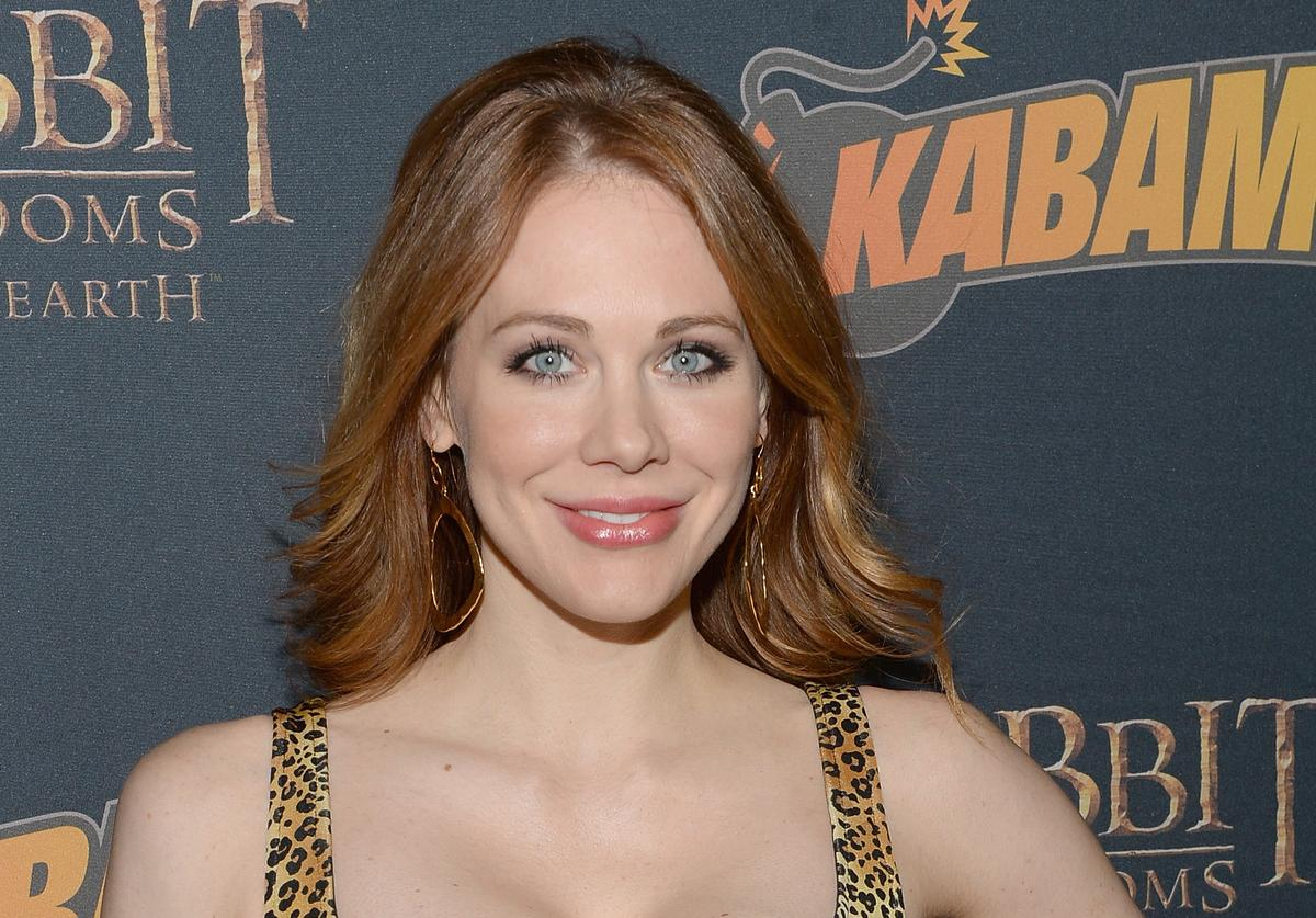 """Actress Maitland Ward arrives at """"The Hobbit: The Desolation Of Smaug Expansion Pack"""" Kabam Mobile Game hits the red carpet at Eveleigh on December 11, 2013 in West Hollywood, California."""
