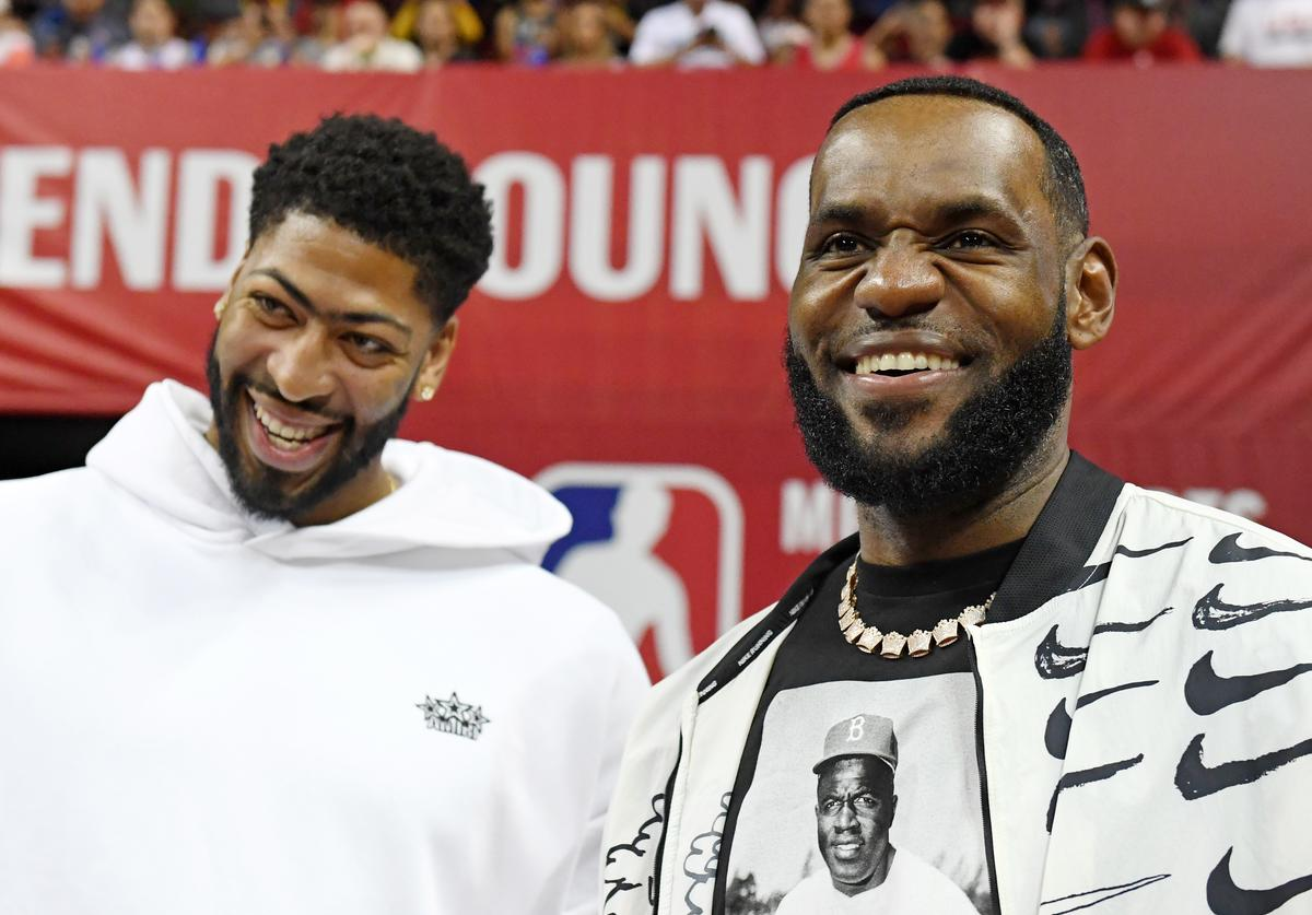 Anthony Davis & LeBron James